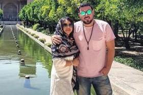 تبریک تولد محسن کیایی به همسرش! عکس