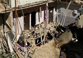 ریزش ساختمان