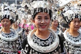 چشن مردم میااو در  چین