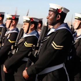 سربازان نیروی دریایی انگلیس
