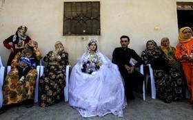 نخستین جشن عروسی بدون داعش در رقه سوریه