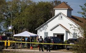 محل کلیسایی که تیراندازی در آن رخداده و گفته شده که حدود بیست کشته برجای گذاشته