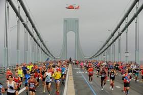 مسابقه دو ماراتن در نیویورک