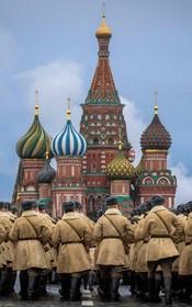 تمرین نظامیان روسی برای آغازسالگرد آغاز جنگ جهانی دوم