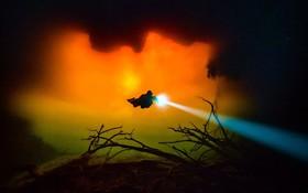 اعماق در یای سرخ در نزدیکی سواحل مکزیک