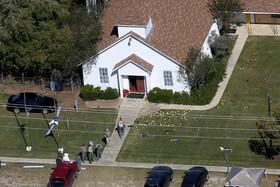 بنای کلیسایی که حادثه کشتار اخیر یک آمریکایی در آن رخداده