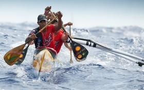 مسابقات قایقرانی سنتی در پولینزی