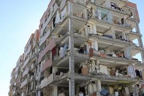 (تصاویر)عکس هایی از زلزله در دوسوی مرز ایران و عراق: سرپل ذهاب
