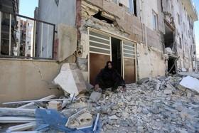 (تصاویر)عکس هایی از زلزله در دوسوی مرز ایران و عراق:سرپل ذهاب