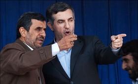 احمدی نژاد و مشایی