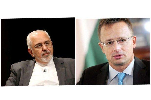 گفتگوی تلفنی وزرای خارجه ایران و مجارستان