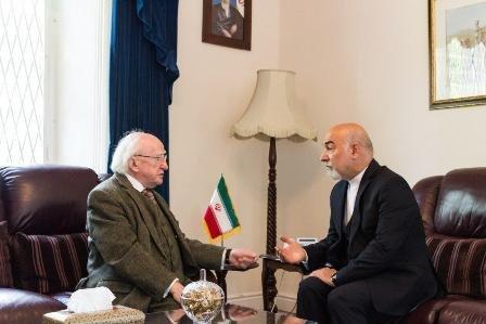 ابراز همدردی رئیسجمهوری ایرلند با آسیبدیدگان زلزله ایران