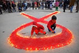 روز جهانی ایدز در کاتماندو نپال