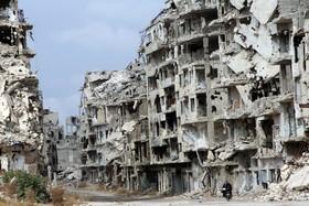 عکسی از حلب  سوریه