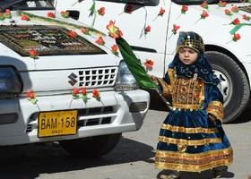 مراسم عید میلاد نبی در کویته پاکستان