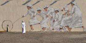 نقاشی دیواری در دوبی