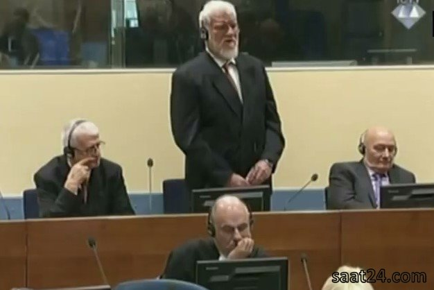 خودکشی متهم در دادگاه