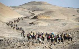 مسابقه دو ماراتن در صحرای ایکا در پرو