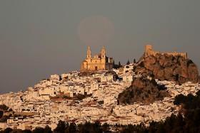 ابرماه در منطقه کادیز در شمال اسپانیا