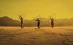 زنان ماهیگیر در ویتنام