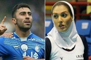 عکس جدید فرنوش شیخی و همسرش کاوه رضایی در بلژیک