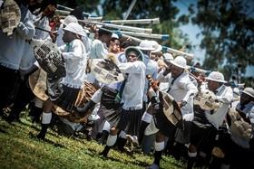 آفریقای جنوبی و یک مراسم سنتی