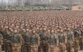 مراسم نظامی در چین