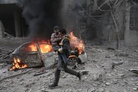 ادامه درگیری ها در سوریه