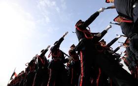مراسم فارغ التحصیلی دانشکده افسری در عراق