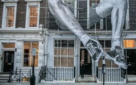 یک اثر هنری در لندن