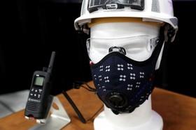 ماسک ضد آلودگی که ذرات تا چهاردهم میکرون را نیز از هوای تنفسی حذب می کند