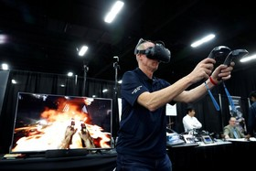 عینک سه بعدی برای بازی های رایانه