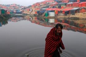 اردوگاه آوارگان روهینگیا در بنگلادش