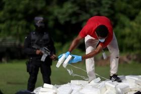 توقیف یک کشتی حامل کوکائین در آب های جمهوری دومنیکن