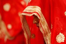 مراسم عروسی جمعی در احمد آباد هند