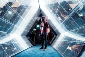 فناوری نمایشی تونل 5 جی در نمایشگاه تکنولوژی لاس وگاس آمریکا