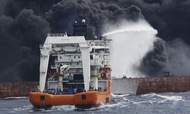 واکنش بازیگر «جنگ نفتکشها» به حادثه تلخ «سانچی»