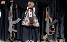 مراسم حمایت از حوثی ها در صنعا یمن