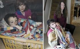 عکسهای جالب بچگی که بعد از سالها تکرار شدند