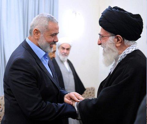 نامه اسماعیل هنیه به رهبر انقلاب اسلامی