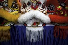 تزئینات سال نو چینی در سنگاپور