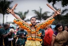 مراسم مذهبی هندوها در آفریقای جنوبی