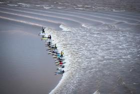 موج سواری در سواحل انگلیس