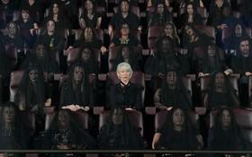 هلن میران هنرپیشه انگلیسی در مراسم افتتاحیه فیلم جدیدش در لوس آنجلس آمریکا
