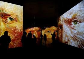 نمایشگاهی از آثار ونسان ونگوگ در سویل اسپانیا
