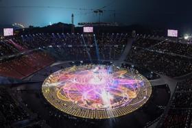 افتتاحیه بازی های زمستانی المپیک کره جنوبی