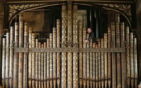 ارگی در کلیسای سنت پیتر در انگلیس