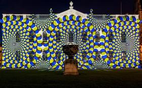 نمایش نور و صدا در دانشگاه کمبریج