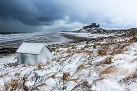 ساحلی یخزده در انگلیس