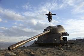 بازی کودکی در کابل